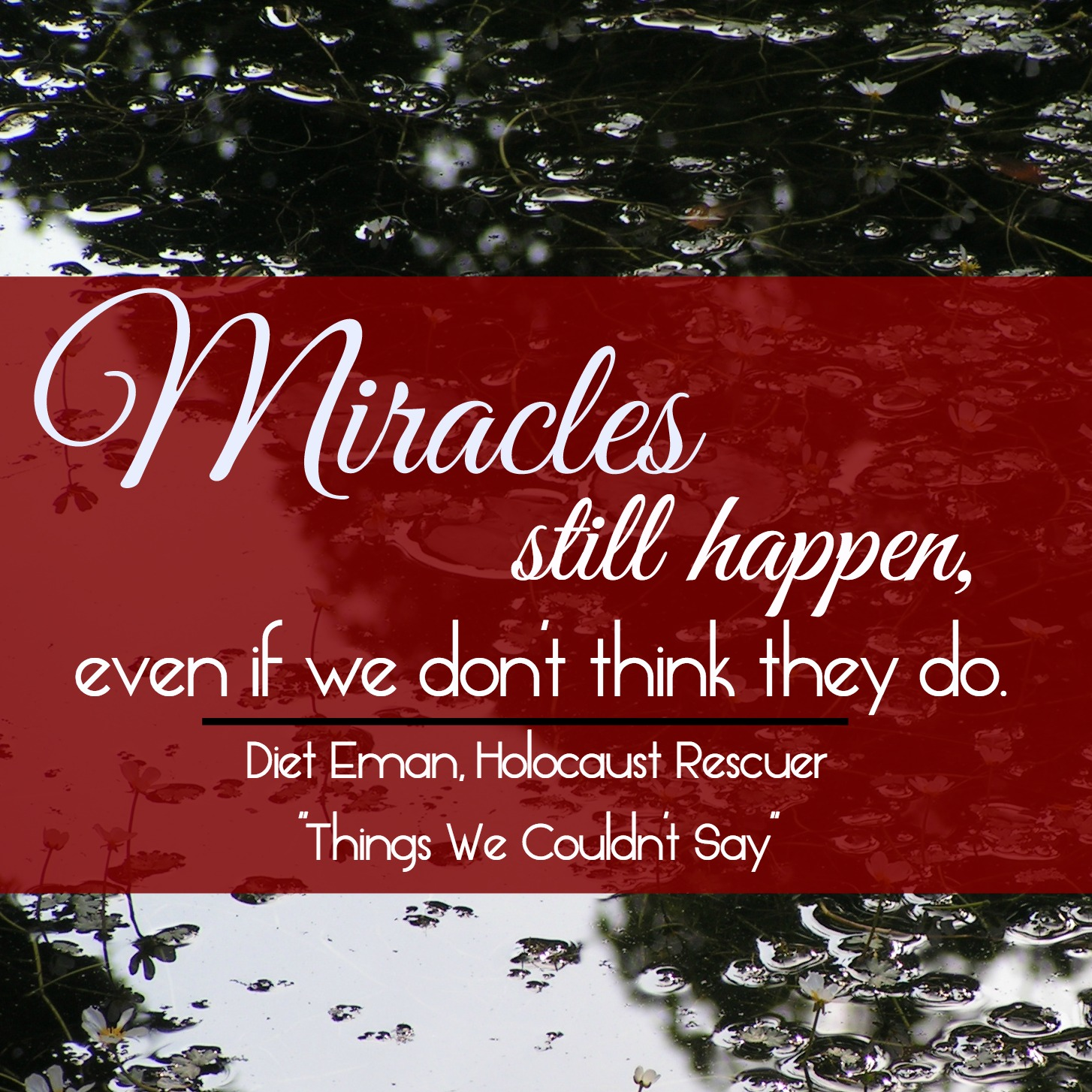 Things We Couldn't Say - Miracles