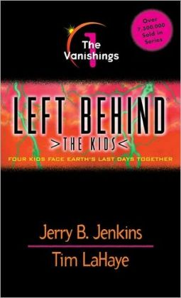 Left Behind: The Kids {The Vanishings} Book 1 - Review - Le Chaim (on ...