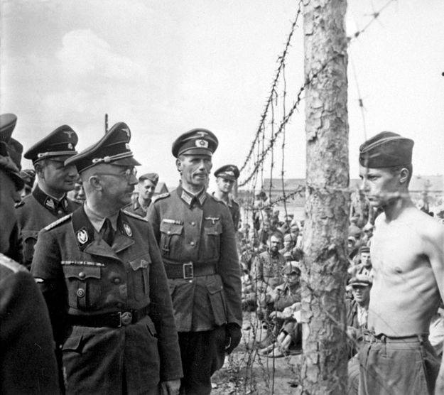 PoW Horace Greasley and Heinrich Himmler