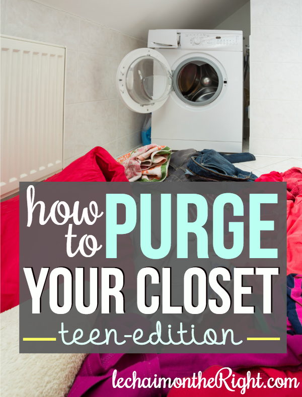 How to Purge your closet