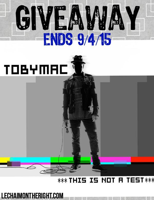 tobyMac Giveaway