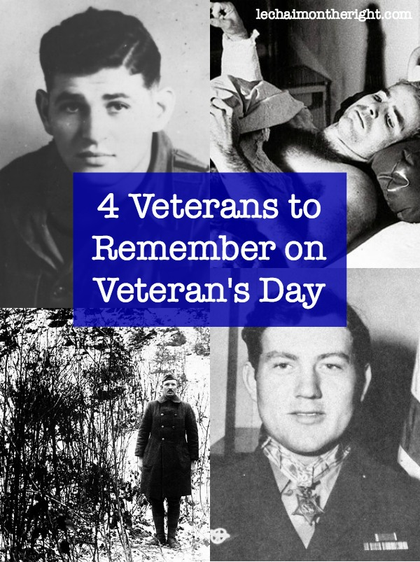4 Veterans To Remember on Veteran's Day