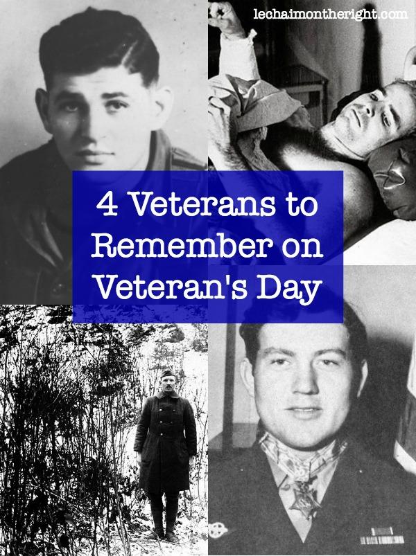 4 Veterans To Remember on Veteran's Day