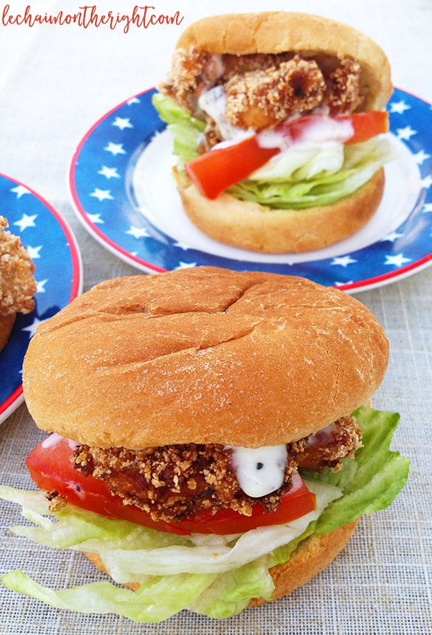 Fried Chicken Sliders 1