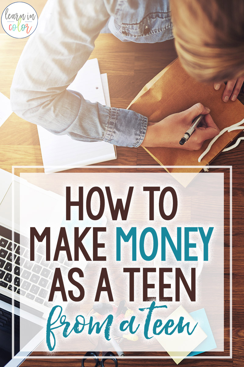 The paradoxgoes like this: you need experience for a job, but you need a job for experience. Here are the top ways I made money in high school, and how other teens can make money or start a business in high school!