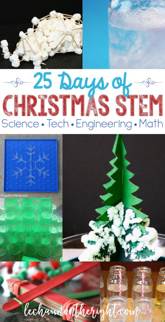 25 days of christmas stem activities science tech engineering math here are 25 days of christmas stem activities christmas science technology engineering urtaz Images