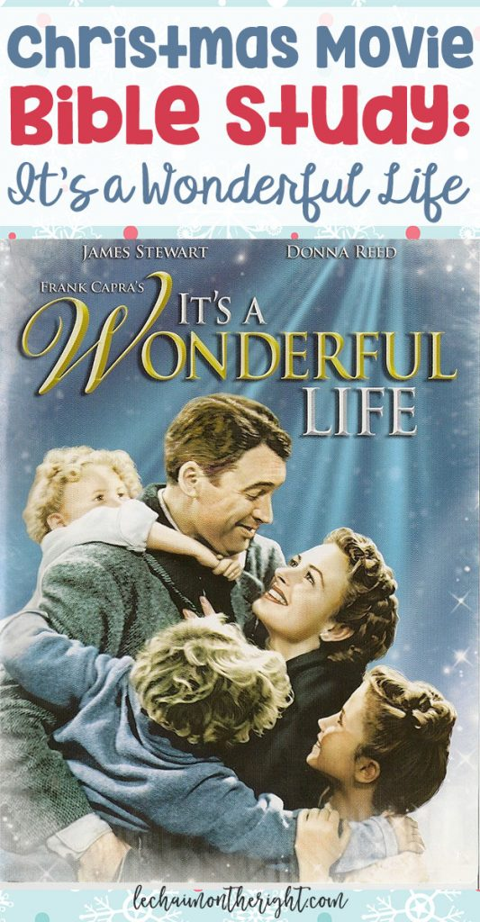 Movies can have a large impact on the way we think, and are a great starting point for discussion. Here is a Christmas movie Bible study for Frank Capra's It's a Wonderful Life!