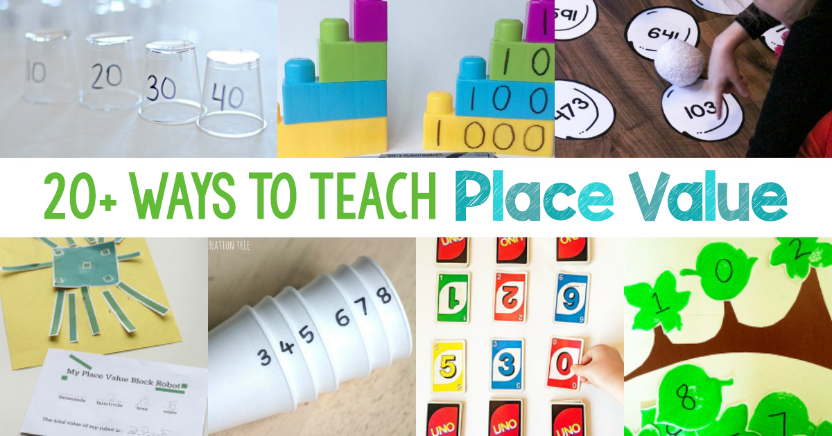 photo regarding Place Value Games Printable called 20+ Arms-upon Tactics towards Educate Vacation spot Charge: Fundamental Arms upon Math