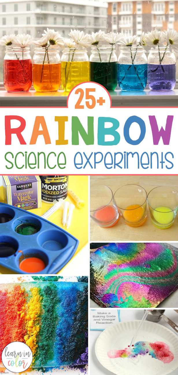 Get hands-on with these 25+ rainbow science activities for elementary students! Make science come alive with these activities to make learning epic.
