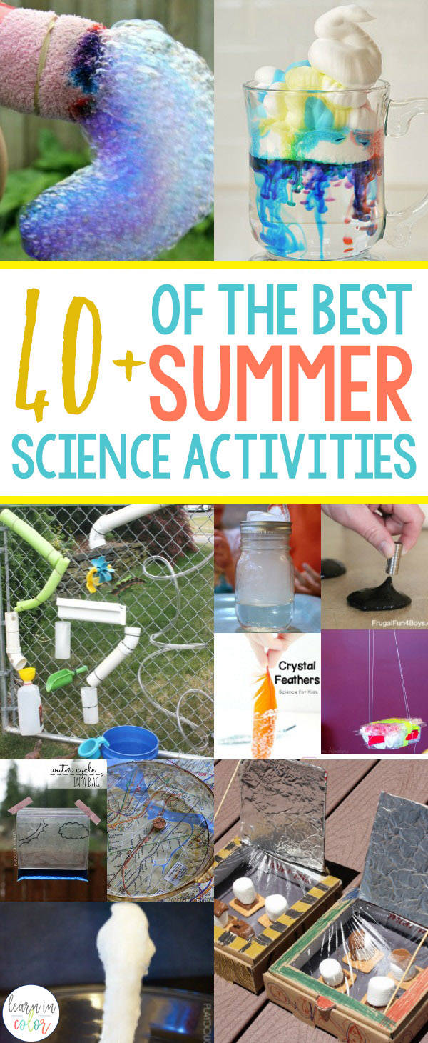 Summer is right around the corner! Get hands-on with these must-try 40+ summer science activities.