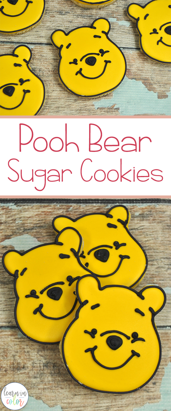 Snuggle up with A.A. Milne's classic Winnie-the-Pooh, and make these Winnie-the-Pooh inspired sugar cookies!