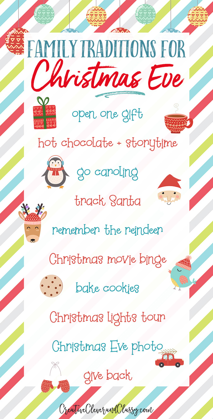 Family traditions are one of the best parts of Christmastime! Use these ten ideas to help start your own family Christmas eve traditions.