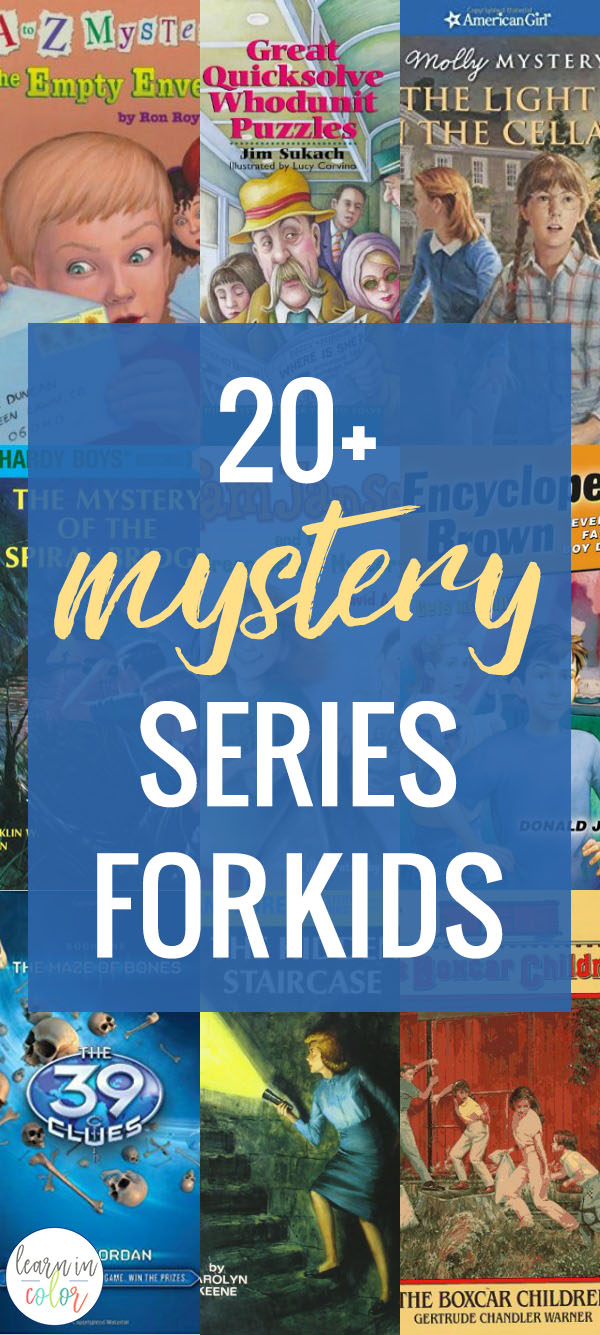 Everyone loves a good mystery! Check out these fun mystery series for kids, reviewed and sorted by age range.