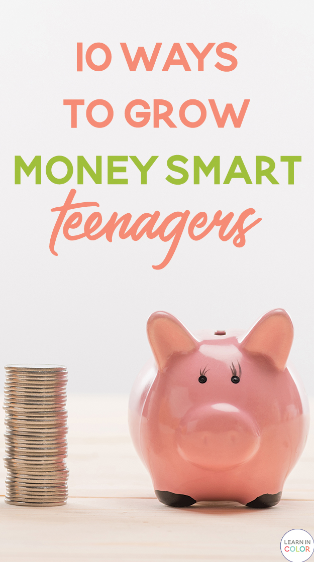 Create money smart teenagers with these ten tips! Growing financial literacy is an excellent life skill that will help teens so much in the future.