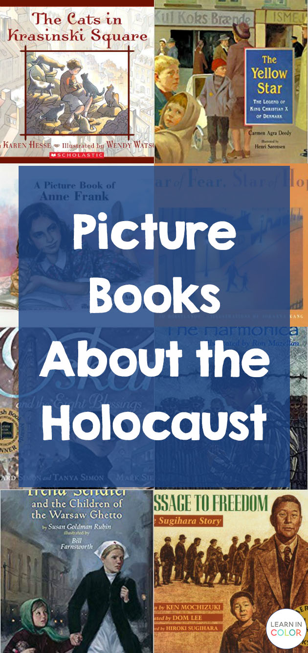 The Holocaust is a difficult subject. Here are some picture books about the Holocaust to teach the subject gently.