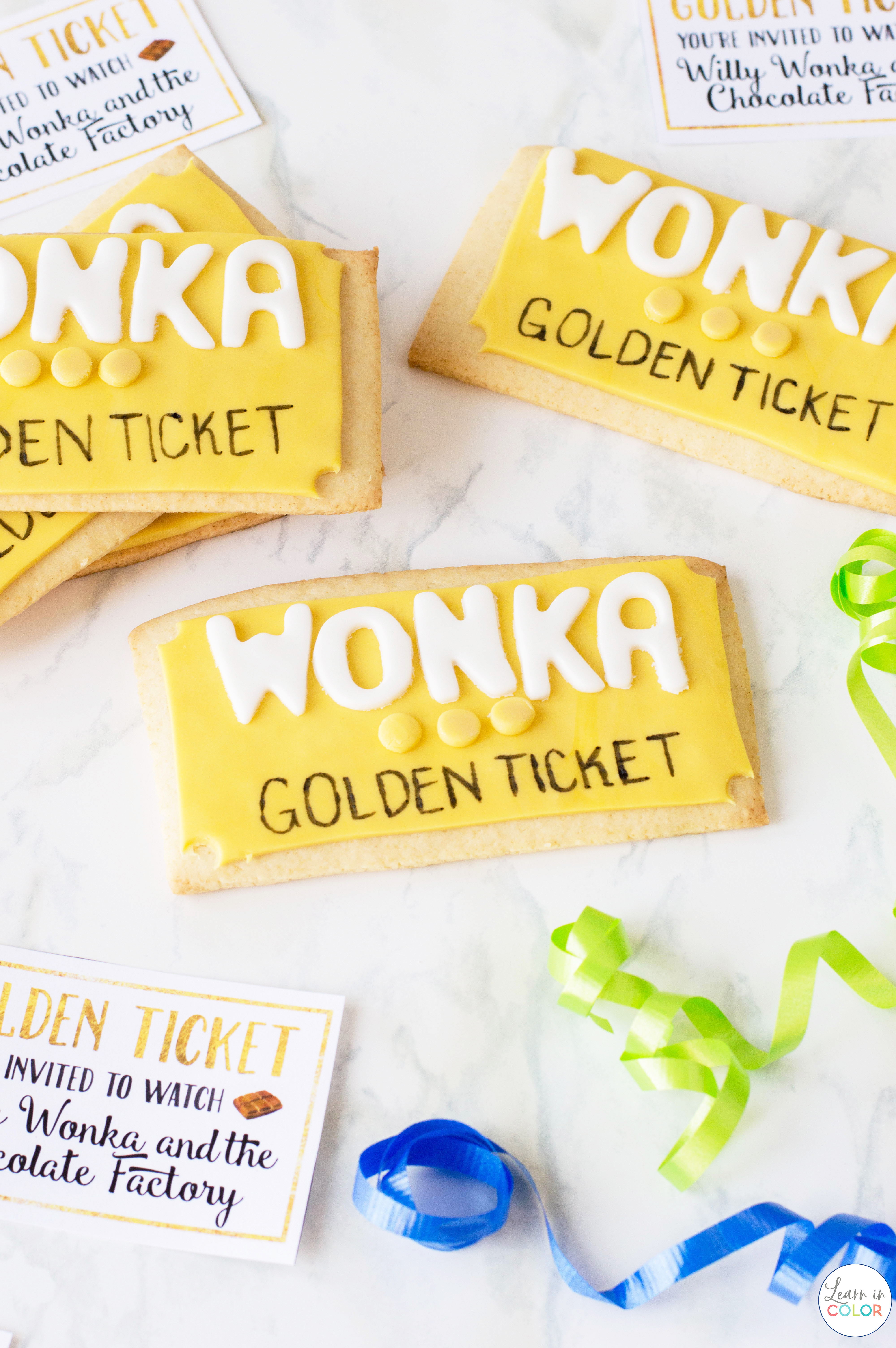 Willy Wonka and the Chocolate Factory is one of my favorite family movies. Enjoy these delicious cookies to go with the movie!