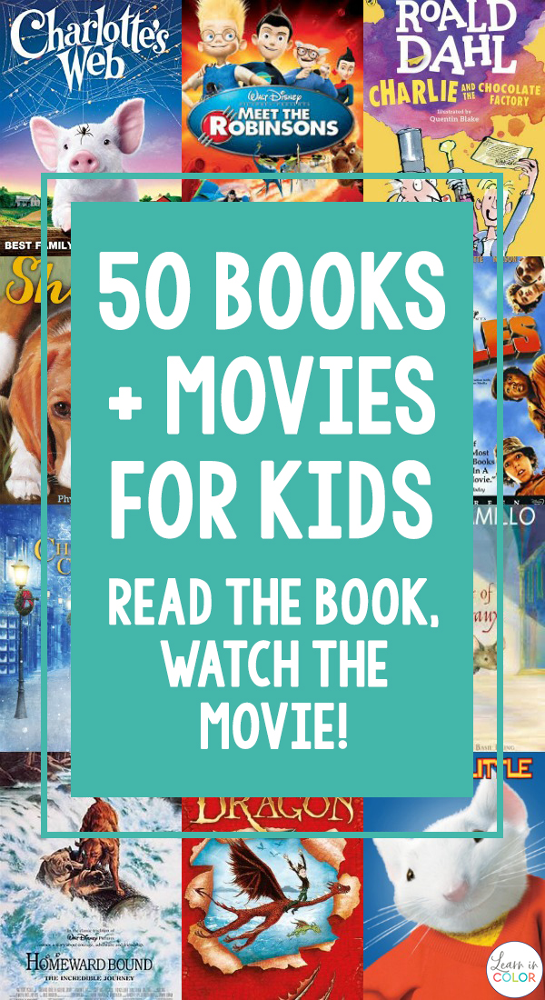 Read the Book, Watch the Movie! For Kids - Learn in Color