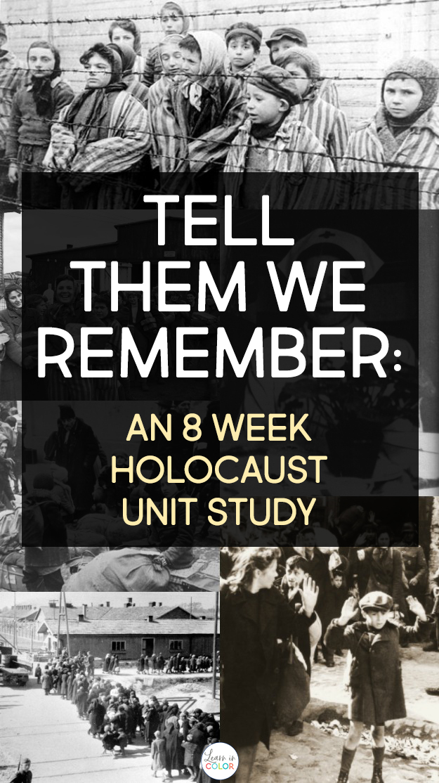 Learn about the Holocaust with this eight-week Holocaust unit study. It includes lessons on Hitler's rise to power, Jewish resistance, life in the concentration camps, and the Righteous Among the Nations.