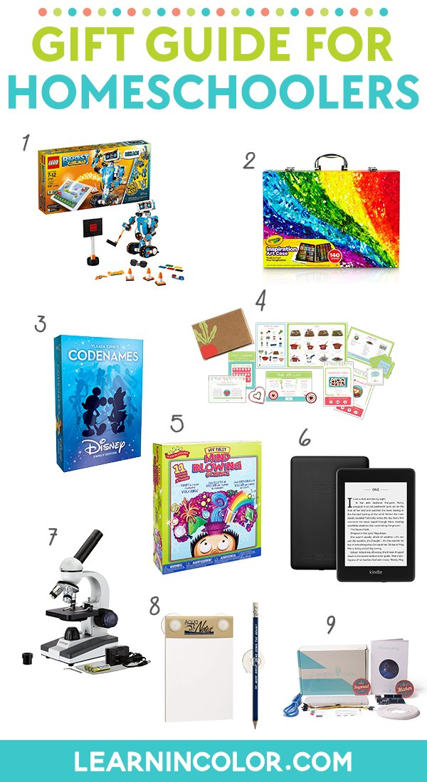 Christmas Gifts for Homeschoolers | Gift Guide for Homeschoolers
