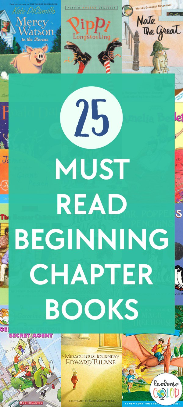 Introduce early readers to chapter books with these must-read children's chapter books for beginners.