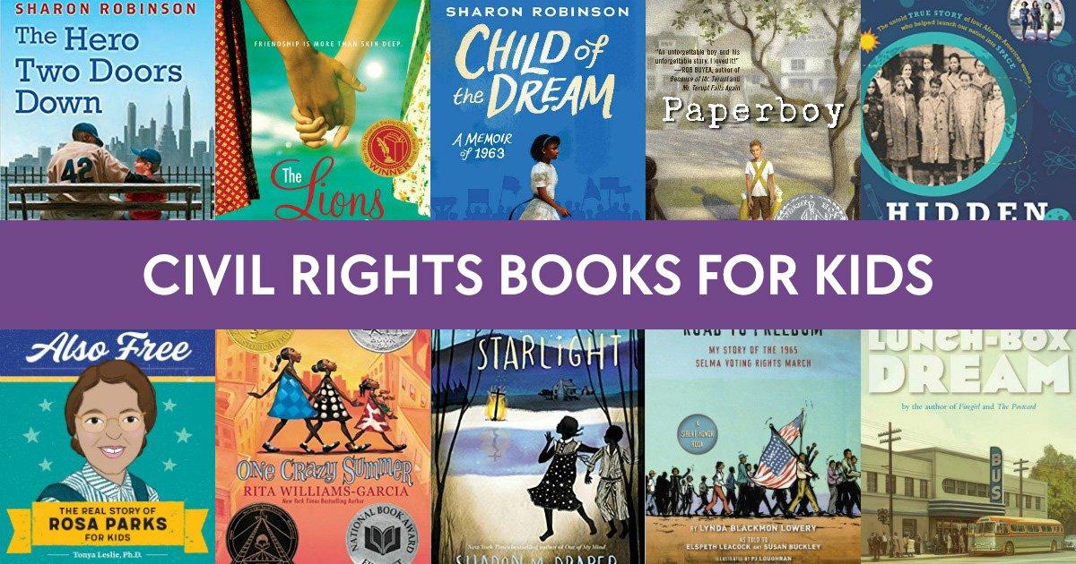 Civil Rights Movement Books for Kids | Black History