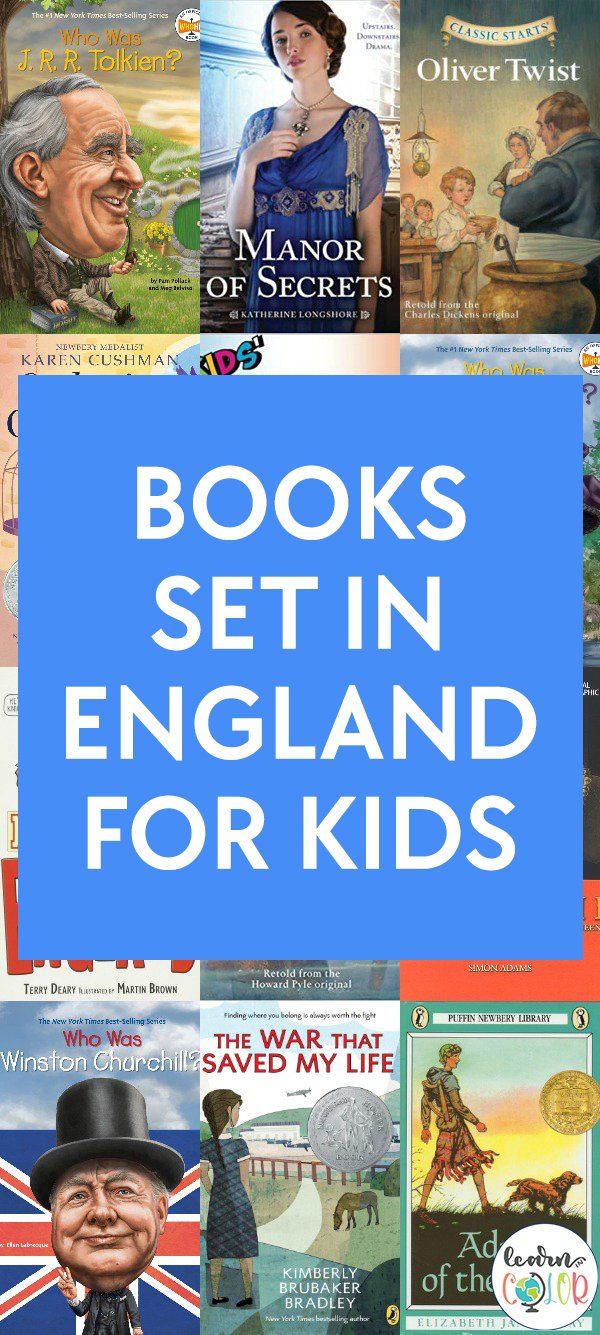 Learn about England's rich history with these chapter books about England for kids, including fiction and vivid non-fiction.