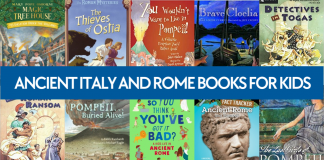 Check out these Ancient history children's books about Rome and Italy to learn more about important events in Ancient Italian and Roman history.