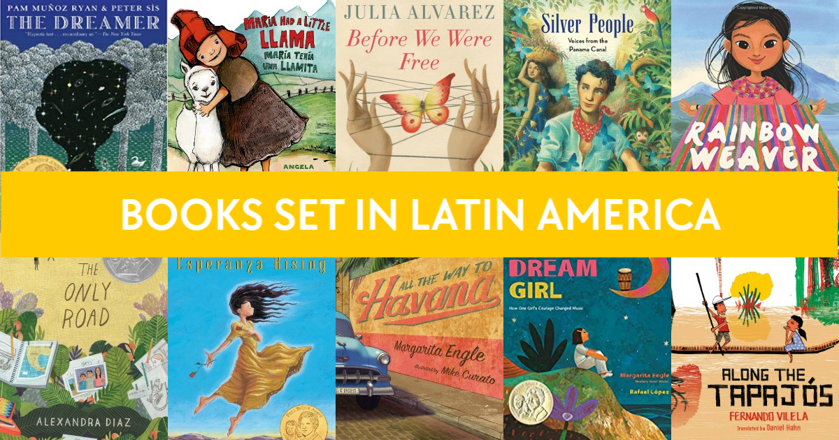 Learn more about Latin American culture with these picture books set in Latin America, including fiction and nonfiction books for kids.