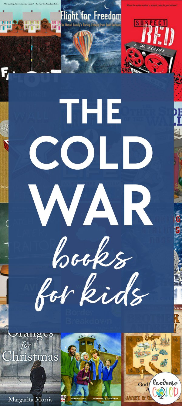 Learn more about the causes of the Cold War through these historical fiction and non-fiction Cold War books for kids.
