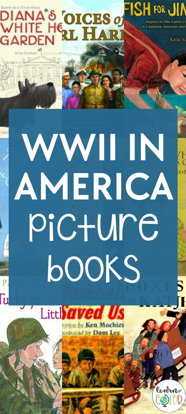 Learn more about the historical events of the second World War in America with these World War 2 picture books for kids, including books about soldiers.